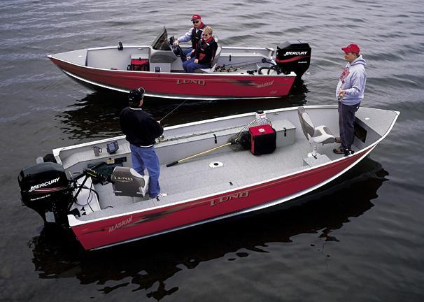 2005 Lund 1600 Alaskan Tiller