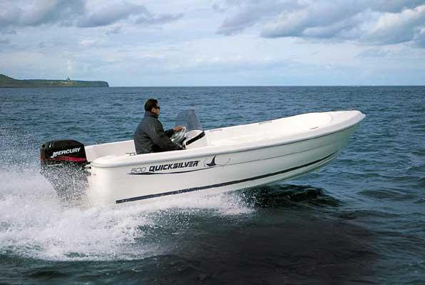 2005 Quicksilver 500 Fish