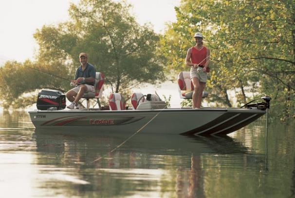 2005 Lowe Fishfinder 175W