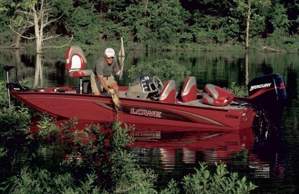 2005 Lowe Stinger 170W
