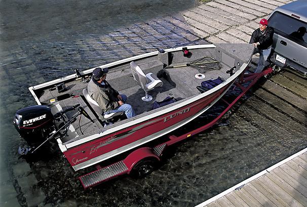 2005 Lund 1700 Explorer Tiller