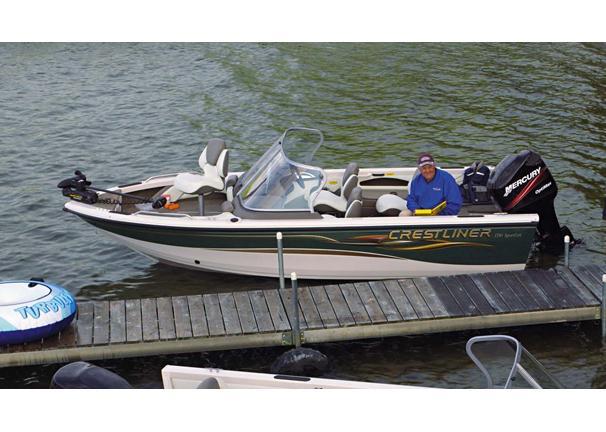 2005 Crestliner Sportfish 1750 OB