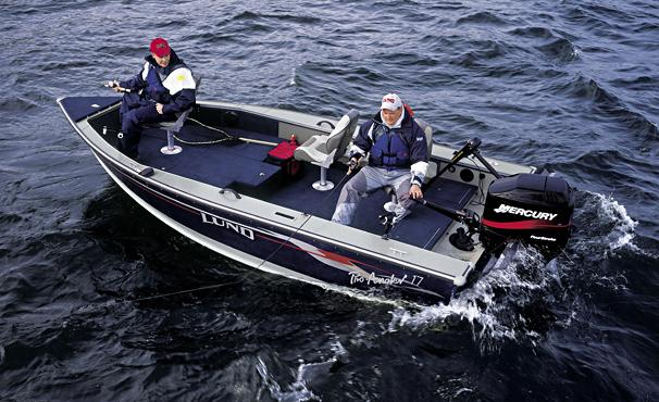 2005 Lund Pro Angler 17