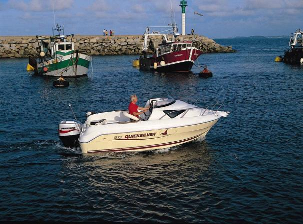 2005 Quicksilver 510 Cruiser